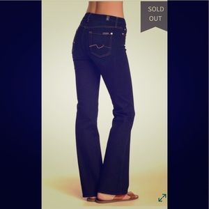 7 for all mankind bootcut Kara jeans